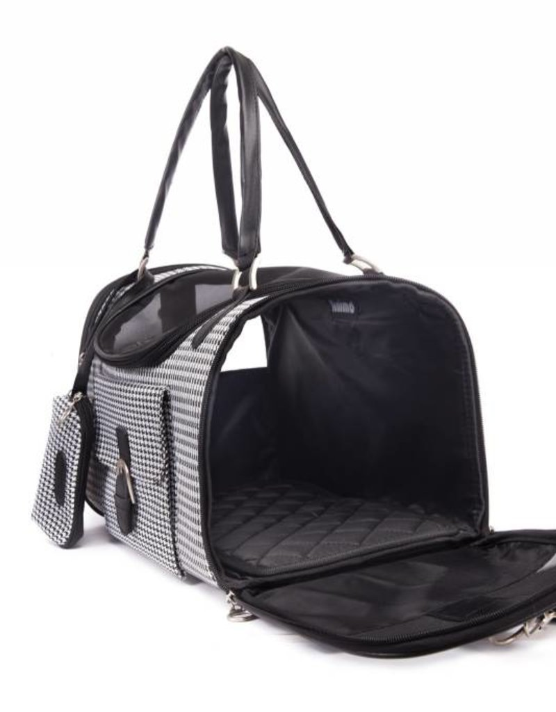Luxury Pet Carrier Travel Bag Outdoor Foldable Tote