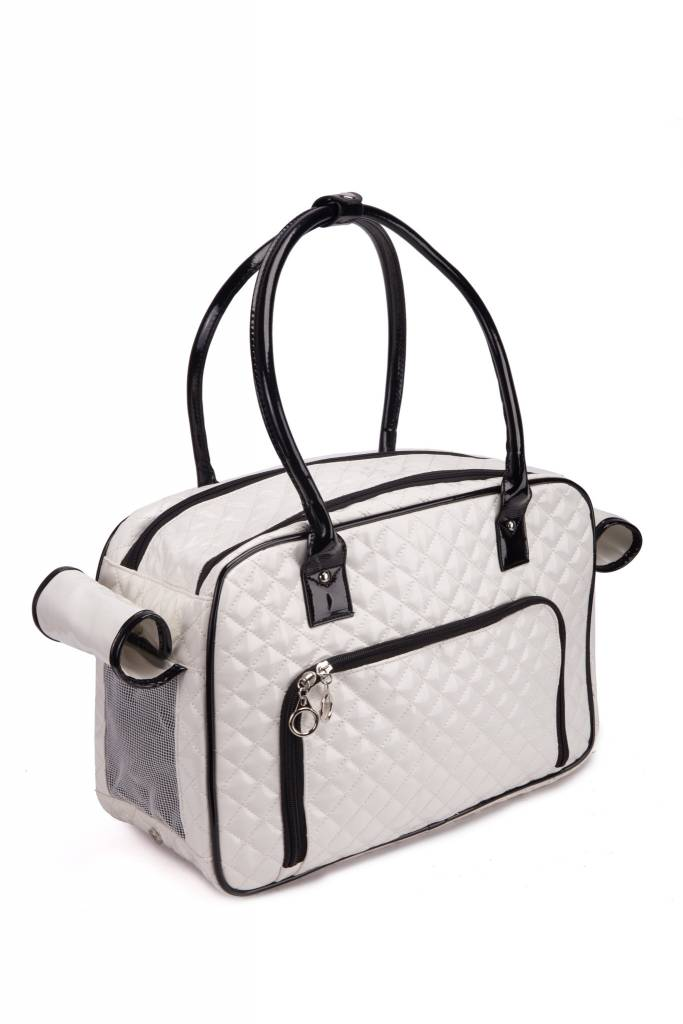 Luxury Windproof Airline Roved Pet Carrier Tote Handbag Beverly Hills Los Angeles Supplies Mobile Stylist Grooming Salon