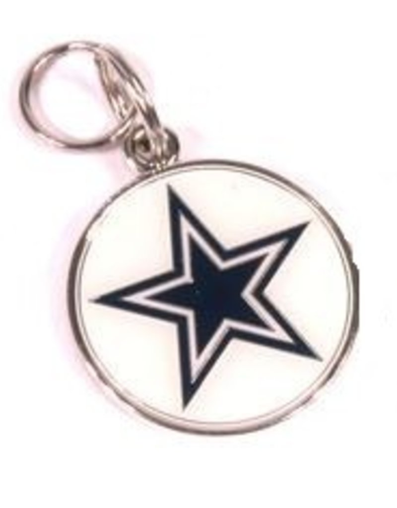 Dallas cowboys personalized id tag beverly hills los angeles nfl licensed nfl personalized custom made engraved id tag dallas cowboys aloadofball Images