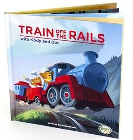 Green Toys Train off the Rail Book