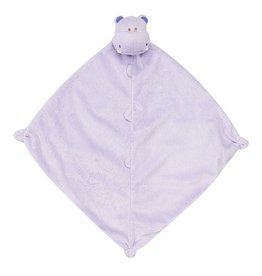 Angel Dear Purple Hippo Blankie
