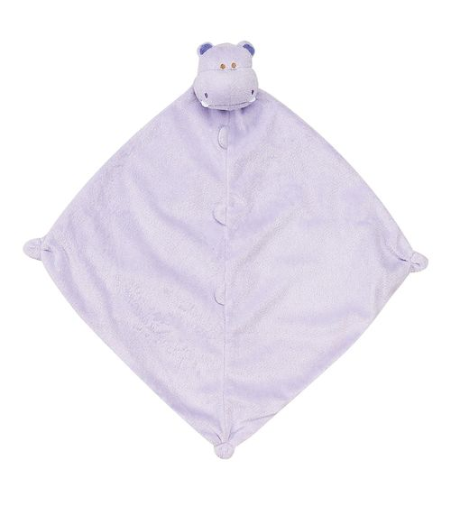 Angel Dear Purple Hippo Blankie