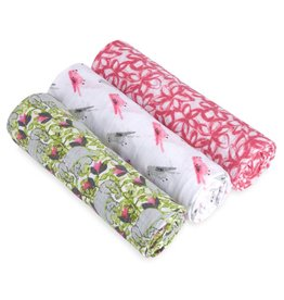 Aden & Anais Paradise Cove Classic Swaddle 3 Pack