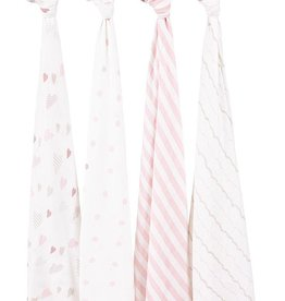Aden & Anais Heartbreaker Classic Swaddles