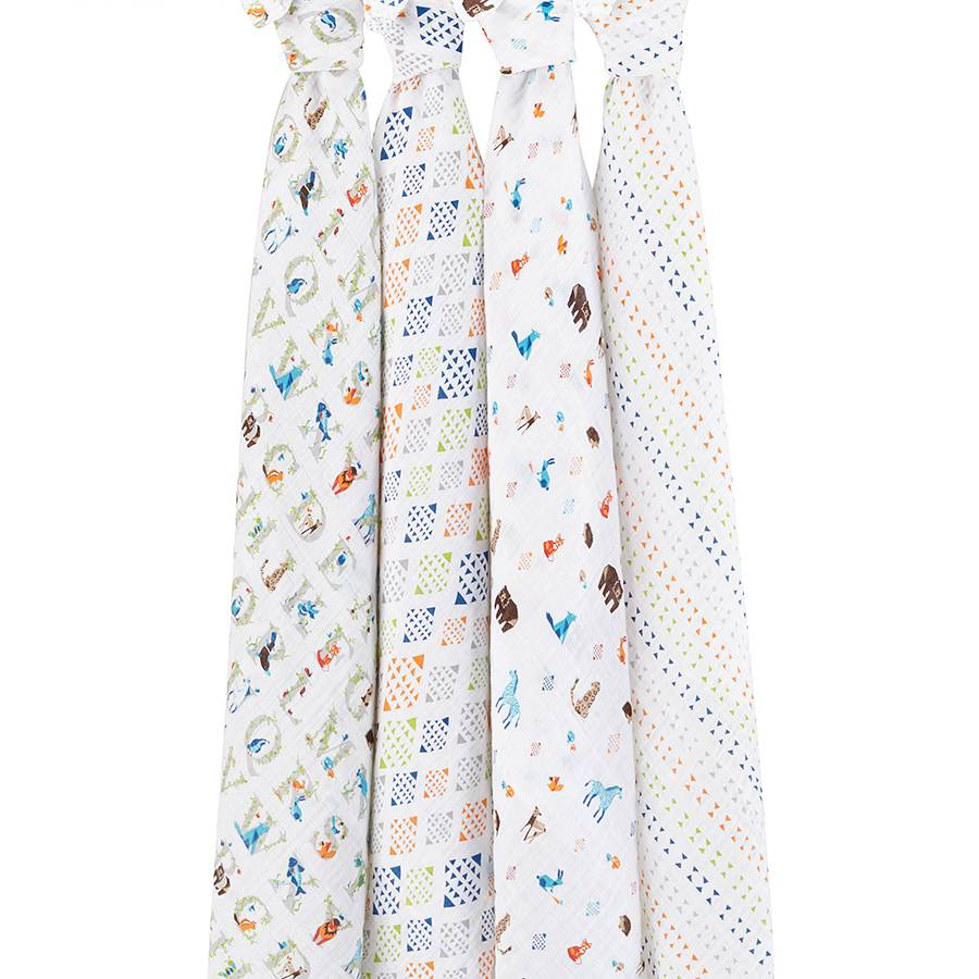 Aden & Anais Paper Tales Classic Swaddles