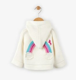 Hatley Chasing Rainbow Mini Duffle Sweater