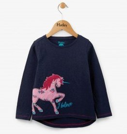 Hatley Believe in Unicorns L/S Tee