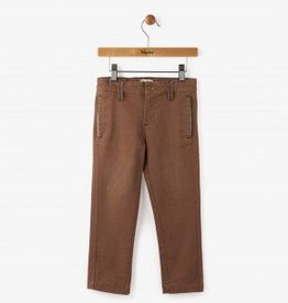 Hatley Chocolate Twill Khakis