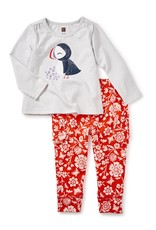 Tea Collection Puffin Baby Outfit