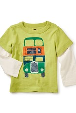 Tea Collection Dundee Bus Graphic Tee