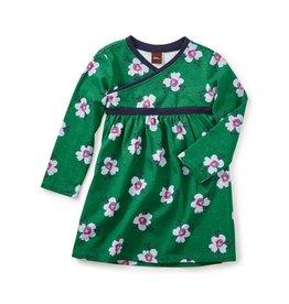 Tea Collection Kelvingrove Wrap Neck Bb Dress
