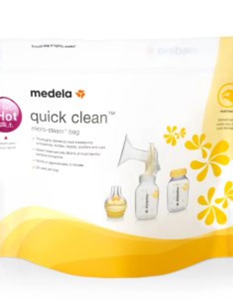 Medela, Inc. Quick Clean Micro Steam Bags