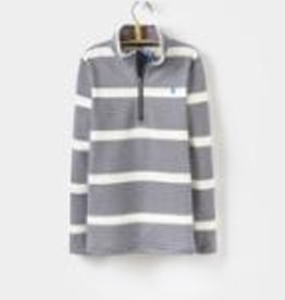 Joules French Stripe Half Zip