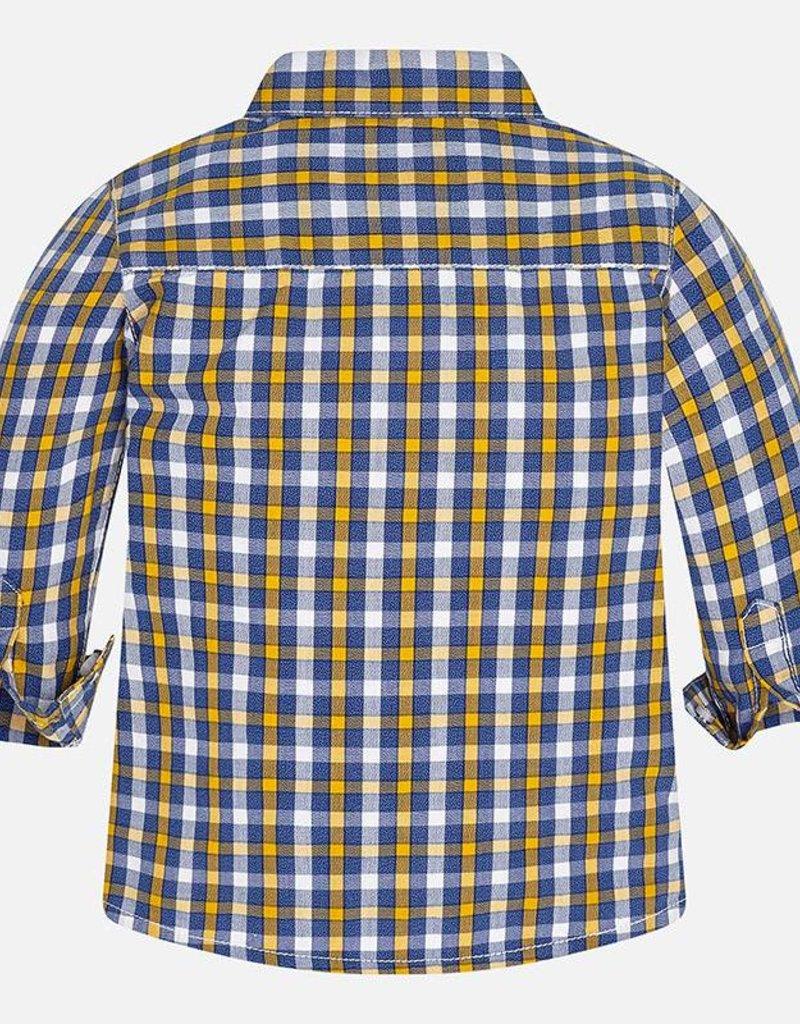 Mayoral USA L/s checked shirt