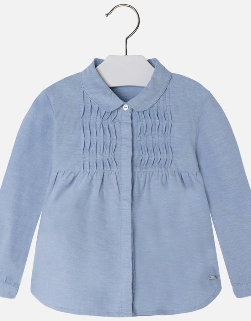 Mayoral USA Oxford blouse