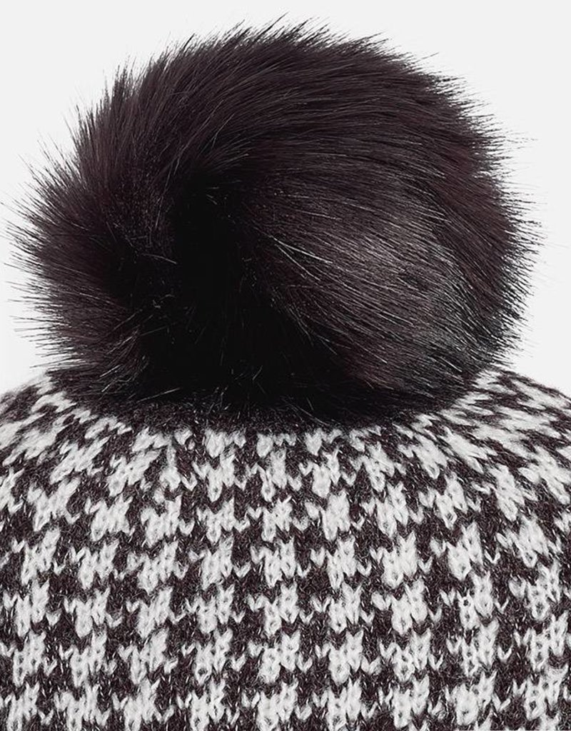Mayoral USA Jacquard scarf-hat set