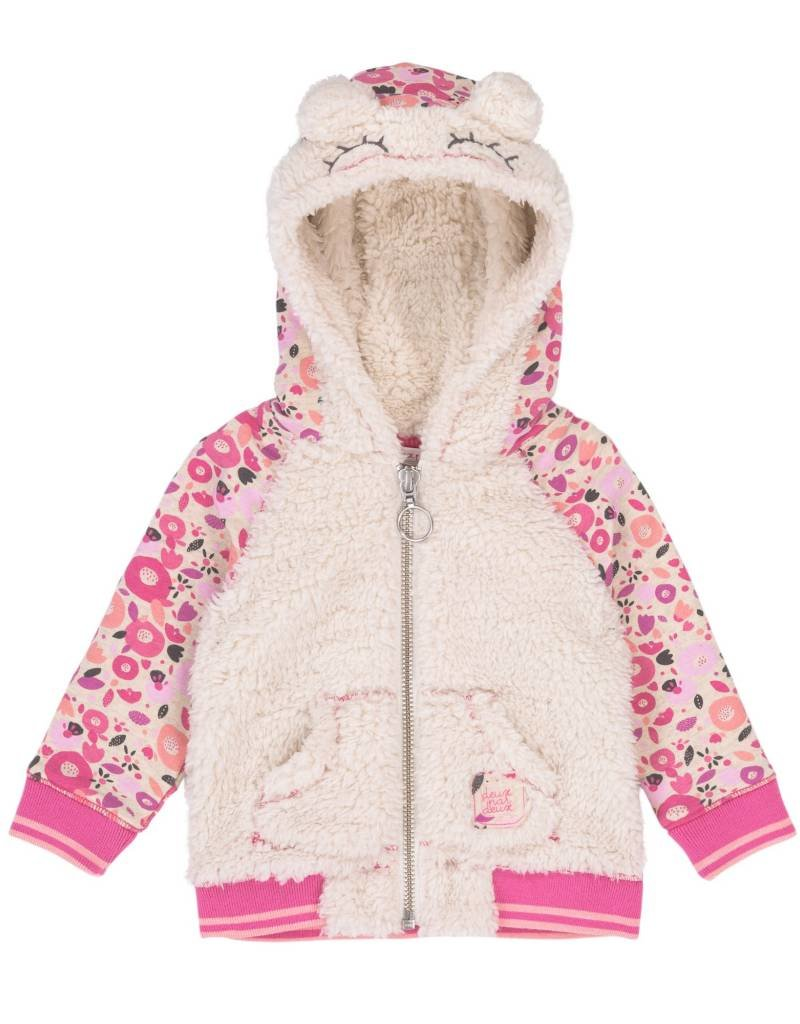 Deux Par Deux Cuddles & Hugs Fleece Jacket