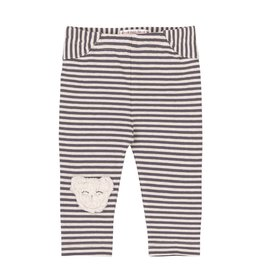 Deux Par Deux Cuddles & Hugs Striped Leggings