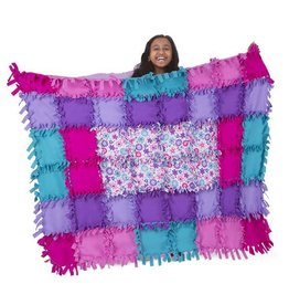 Melissa & Doug, LLC Created by Me Flower Fleece Quilt