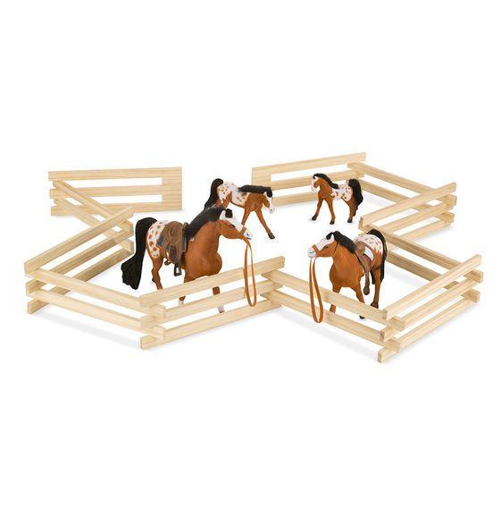 Melissa & Doug, LLC Wooden Horse Corral