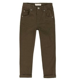 Deux Par Deux Dark Olive Must Have Pant