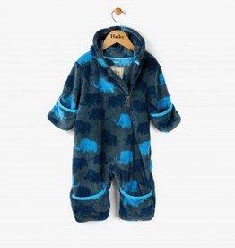 Hatley Woolly Mammoth Fuzzy Fleece Mini Bundlers