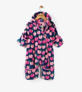 Hatley Apple Orchard Fuzzy Fleece Mini Bundlers