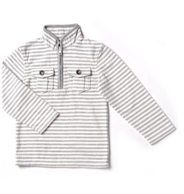 Kapital K Polar Bear Stripe Polar Fleece