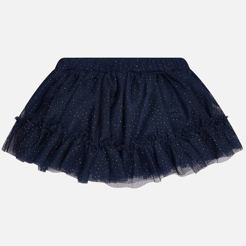 Mayoral USA Navy Tulle Skirt