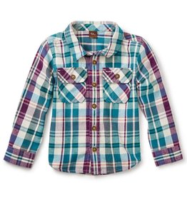 Tea Collection Beaufort Flannel Baby Shirt
