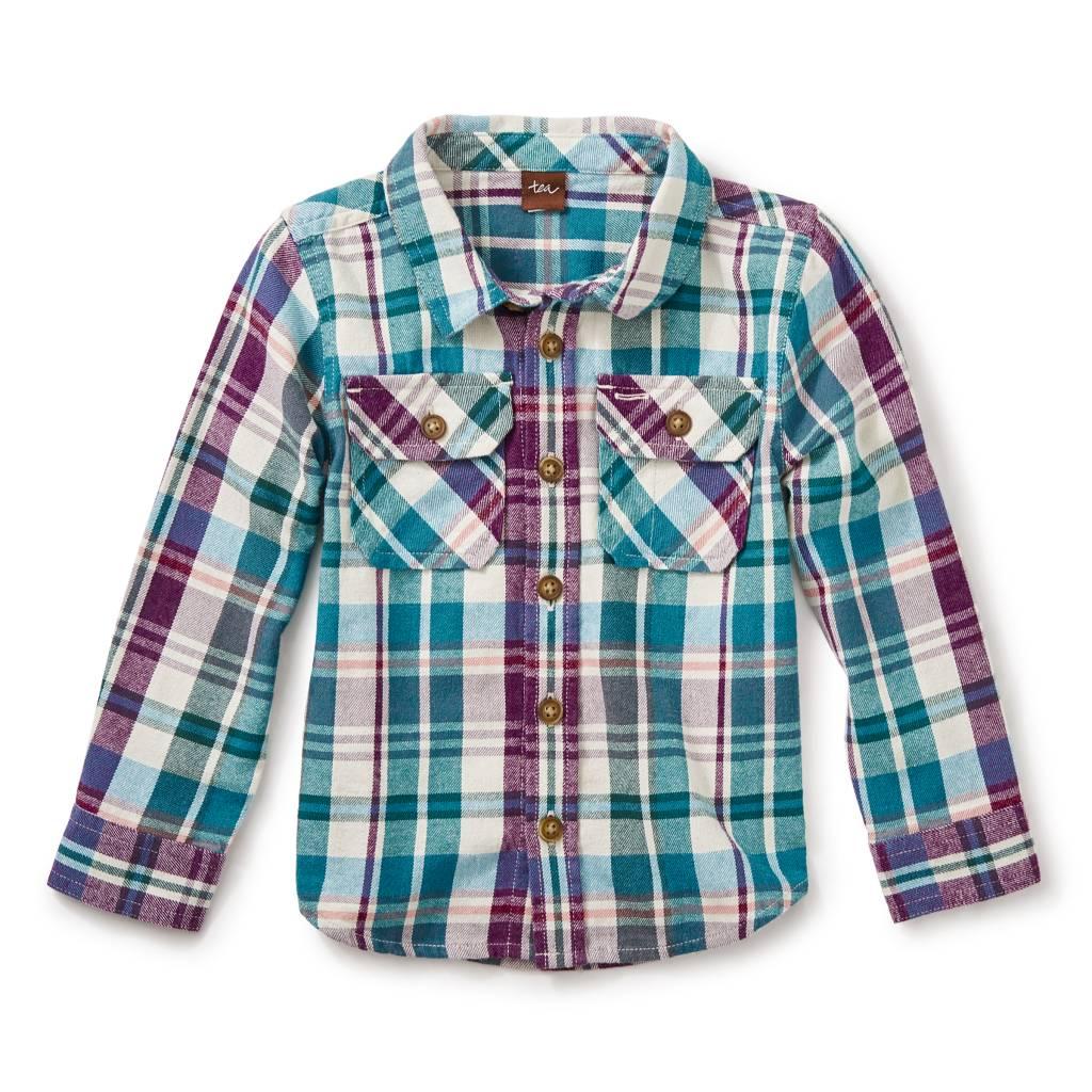 Tea Collection Beaufort Flannel Baby Shirt