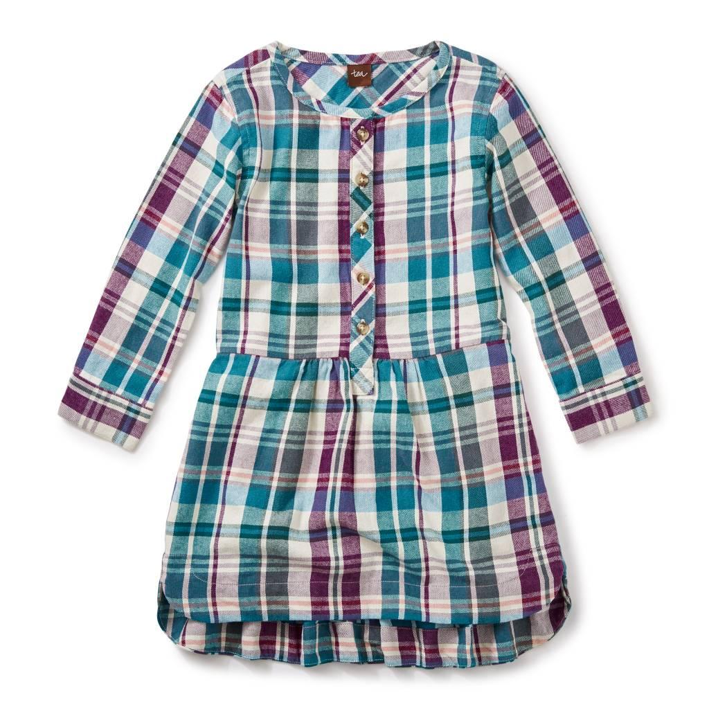Tea Collection Applecross Flannel Shirtdress
