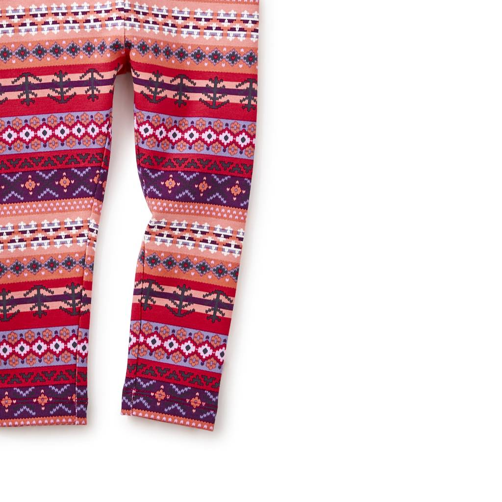 Tea Collection Fair Isle Stripe Leggings