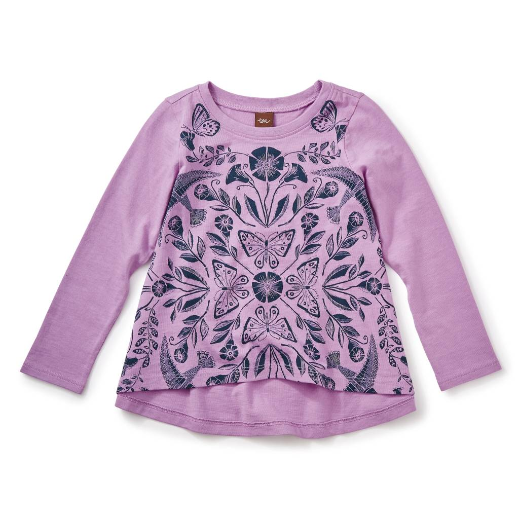 Tea Collection Marsh Violet Twirl Top