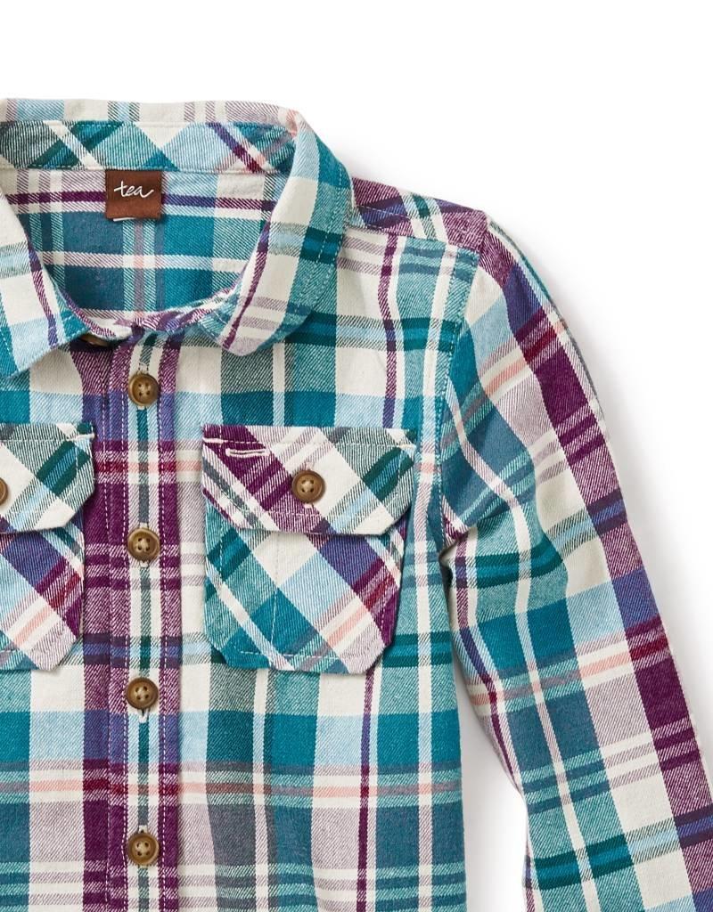 Tea Collection Beaufort Flannel Shirt