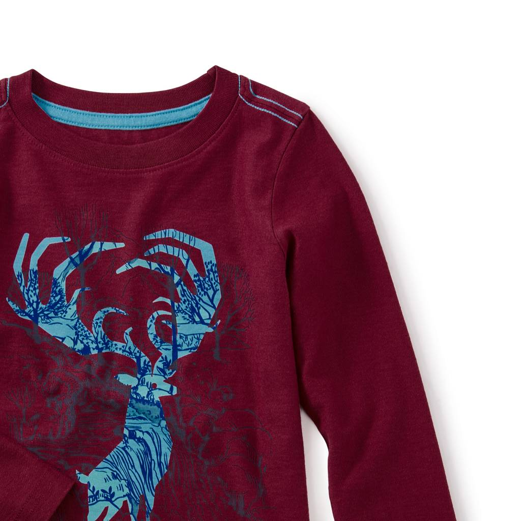 Tea Collection Antlers Graphic Tee