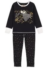 Deux Par Deux Gold Wishes Pajamas