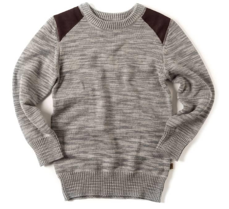 Appaman Navy Heather Skillman Sweater