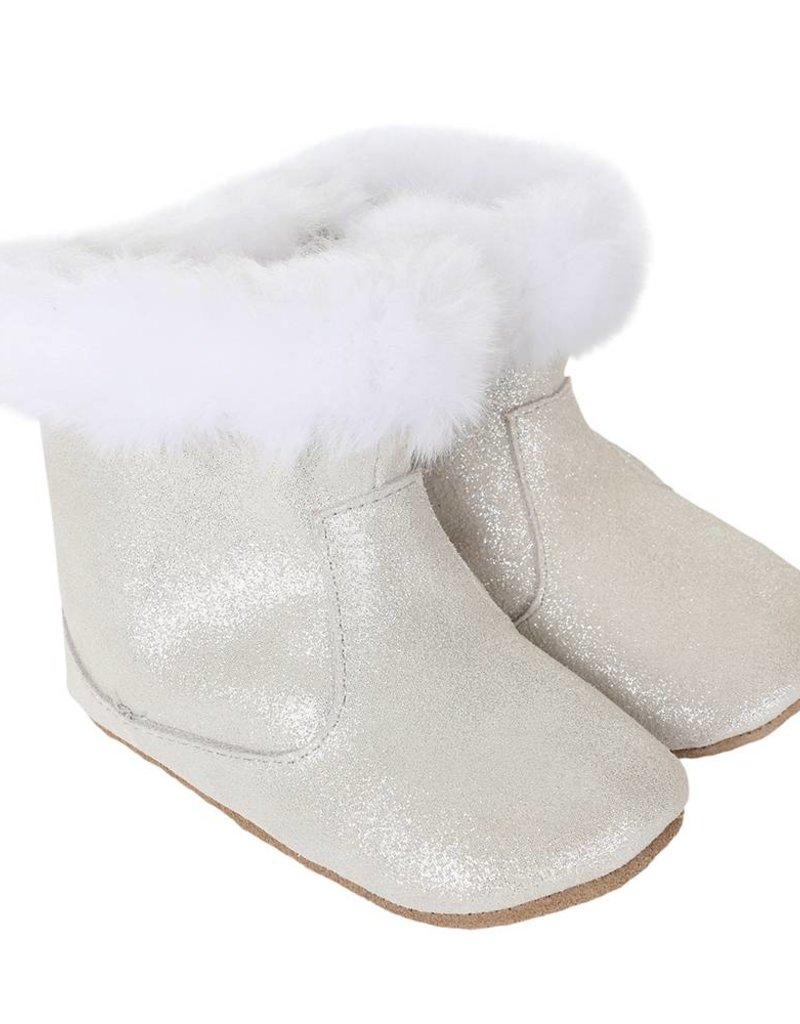 Robeez Grey Thea Twinkle Boot