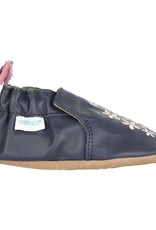 Robeez Navy Bluebell Soft Sole