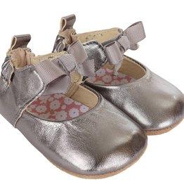 Robeez Grey Amelia Ankle Strap