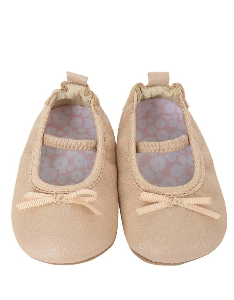 Robeez Frosted Almond Ballet Flat