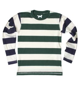 Wes and Willy Contrast Stripe Tee