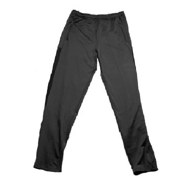 Wes and Willy Tricot Althetic Black Pants