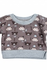 Mimi & Maggie Bear in the Forest Sweatshirt