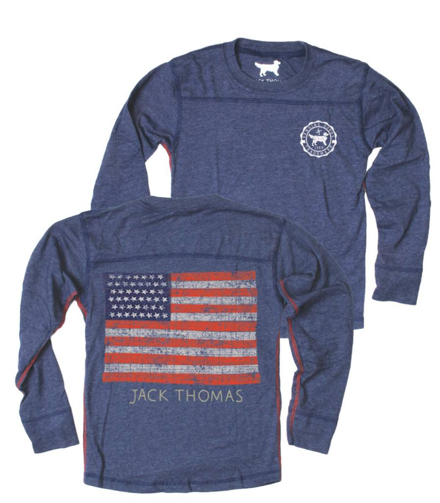 Wes and Willy Midnight Blend Flag Tee