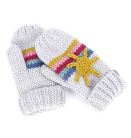 Peppercorn Kids Sun & Rainbow Mittens