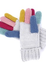 Peppercorn Kids Rainbow Color Finger Gloves (6-12)