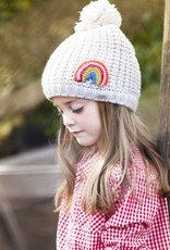 Peppercorn Kids Chunky Rib Rainbow Beanie