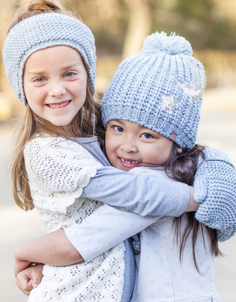 Peppercorn Kids Slouchy Star & Moon Beanie